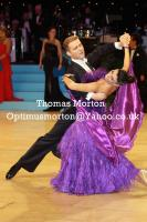 Domen Krapez & Monica Nigro at UK Open 2011