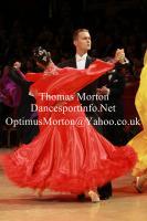 Domen Krapez & Monica Nigro at International Championships 2011