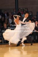Domen Krapez & Monica Nigro at UK Open 2012