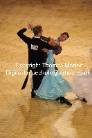 Domen Krapez & Monica Nigro at International Championships 2009
