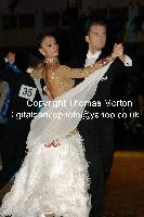 Domen Krapez & Monica Nigro at Dutch Open 2009