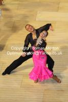 Anton Sboev & Patrizia Ranis at The International Championships