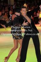 Anton Sboev &amp; Patrizia Ranis at Blackpool Dance Festival