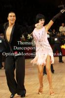 Anton Sboev & Patrizia Ranis at International Championships 2011