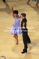 Jurij Batagelj & Jagoda Batagelj at The International Championships