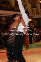 Jurij Batagelj & Jagoda Batagelj at Blackpool Dance Festival