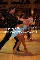 Jurij Batagelj &amp; Jagoda Batagelj at Blackpool Dance Festival 2009