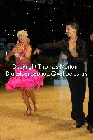 Steven Greenwood & Jessica Dorman at UK Open 2010
