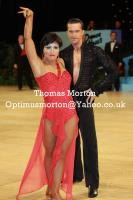 Andrej Skufca & Melinda Torokgyorgy at UK Open 2011