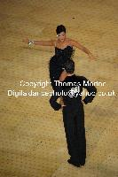 Andrej Skufca & Melinda Torokgyorgy at International Championships 2009