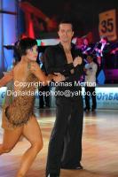 Andrej Skufca & Melinda Torokgyorgy at WDC Professional European Latin Championships