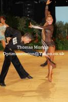 Francesco Bertini & Sabrina Manzi at UK Open 2011