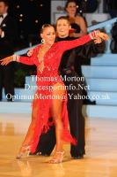 Francesco Bertini & Sabrina Manzi at UK Open 2012