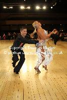 Francesco Bertini & Sabrina Manzi at UK Open 2010