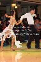 Ron Garber & Ashley Goldman at Blackpool Dance Festival