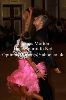 Ryan Mcshane & Ksenia Zsikhotska at The Spectacular Dance - Amateur Ballroom and Latin Challenger Cup