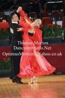 Victor Fung & Anastasia Muravyova at International Championships 2011