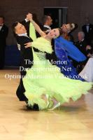 Victor Fung & Anastasia Muravyova at UK Open 2012