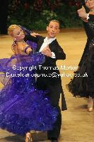 Alessio Potenziani & Veronika Vlasova at UK Open 2010