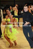 Maurizio Vescovo & Andra Vaidilaite at UK Open 2011