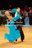 Jacek Jeschke &amp; Hanna Zudziewicz at UK Open 2011
