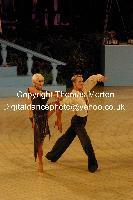 Peter Stokkebroe & Kristina Stokkebroe at UK Open 2009