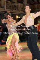 David Barnes & Loren James at Blackpool Dance Festival