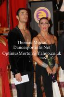Manuel Favilla &amp; Victoria Burke at The Spectacular Dance - Amateur Ballroom and Latin Challenger Cup