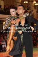 Dorin Frecautanu & Malene Ostergaard at Blackpool Dance Festival