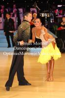Yegor Novikov & Yana Blinova at UK Open 2012