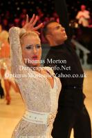 Dorin Frecautanu & Svetlana Borisova at UK Open 2012