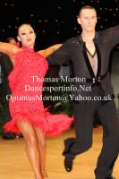 Dmytro Wloch & Viktoriya Kharchenko at UK Open 2012