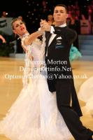Angelo Madonia & Antonella Decarolis at UK Open 2012