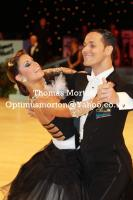 Simone Segatori & Annette Sudol at UK Open 2011