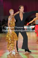 Cedric Meyer & Angelique Meyer at WDC Professional European Latin Championships