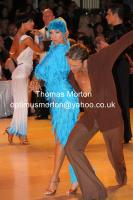 Cedric Meyer & Angelique Meyer at Blackpool Dance Festival 2010