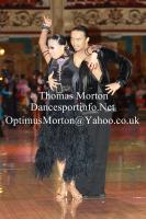 Alex Wei Wang & Roxie Jin Chen at Blackpool Dance Festival