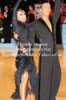 Alex Wei Wang & Roxie Jin Chen at UK Open 2012