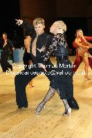 Sarunas Greblikas & Viktoria Horeva at UK Open 2010