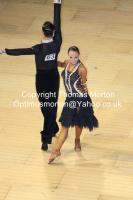 Sergey Sourkov & Agnieszka Melnicka at The International Championships