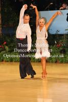 Sergey Sourkov & Agnieszka Melnicka at UK Open 2012