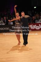 Sergey Sourkov & Agnieszka Melnicka at 1st WDC Austrian Open
