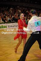 Sergey Sourkov & Agnieszka Melnicka at 23. German Open Championships