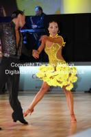 Sergey Sourkov & Agnieszka Melnicka at WDC Professional European Latin Championships