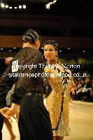 Dorin Frecautanu & Roselina Doneva at UK Open 2009