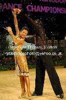 Dorin Frecautanu & Roselina Doneva at UK Open 2009