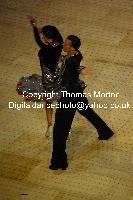 Dorin Frecautanu & Roselina Doneva at International Championships 2009