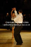 Dorin Frecautanu & Roselina Doneva at Dutch Open 2009