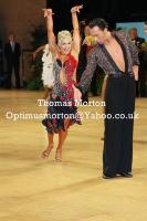 Michal Malitowski & Joanna Leunis at UK Open 2011