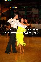 Emanuele Soldi & Elisa Nasato at Dutch Open 2009